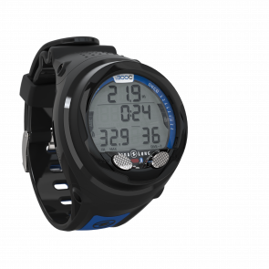 Ordinateur de plongée i300C Bracelet Noir / Bleu