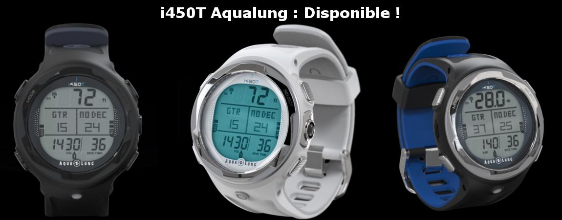montre orinateur de plongee i450T Aqualung