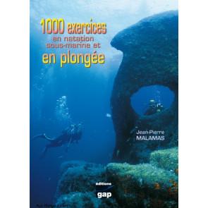 1000 exercices en natation et plongee sous-marine