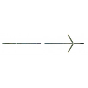 Tahitienne inox Rockwell 6.5mm double ardillons